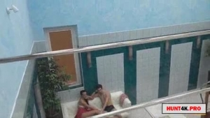 Mature woman is paying a handsome, black man to fuck her completely naked in the nature